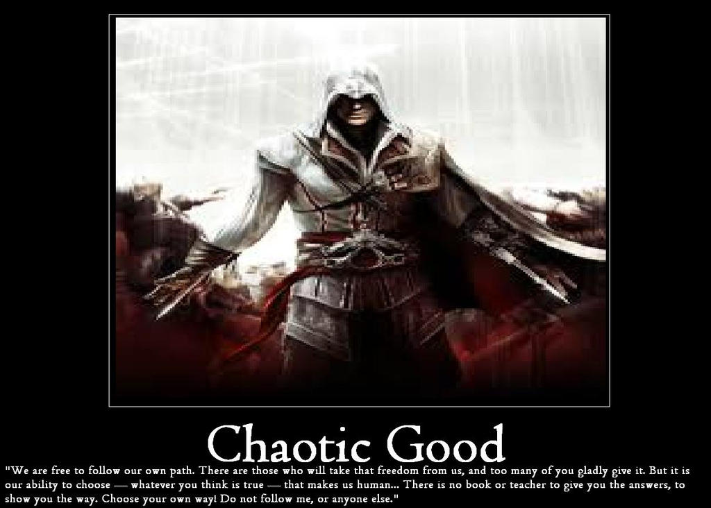 how to play chaotic good