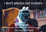 The most interesting Muppet in the world.
