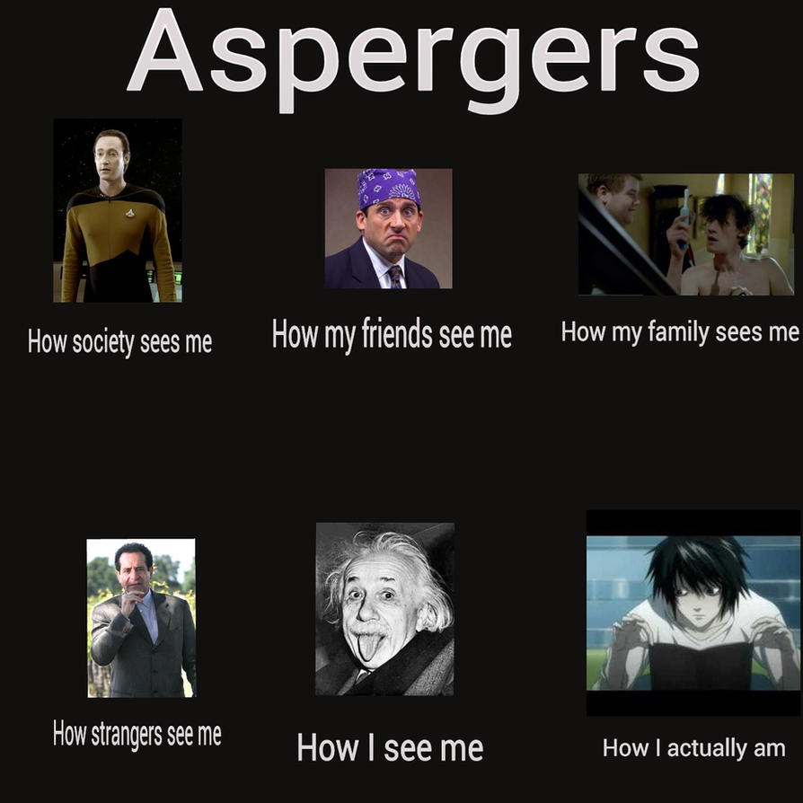 adult aspergers syndrome face recognition
