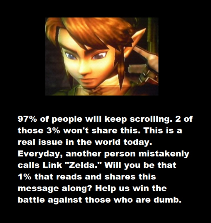 Link Is Not Zelda! by Chaser1992