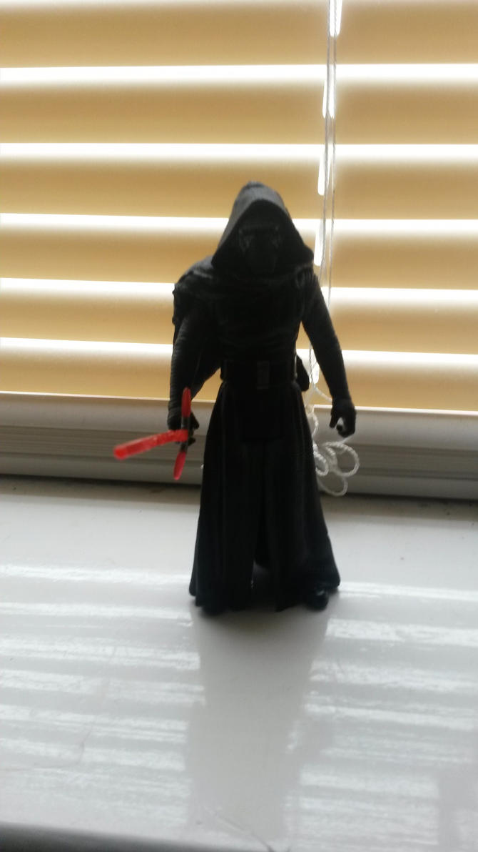 Kylo Ren figure by Chaser1992