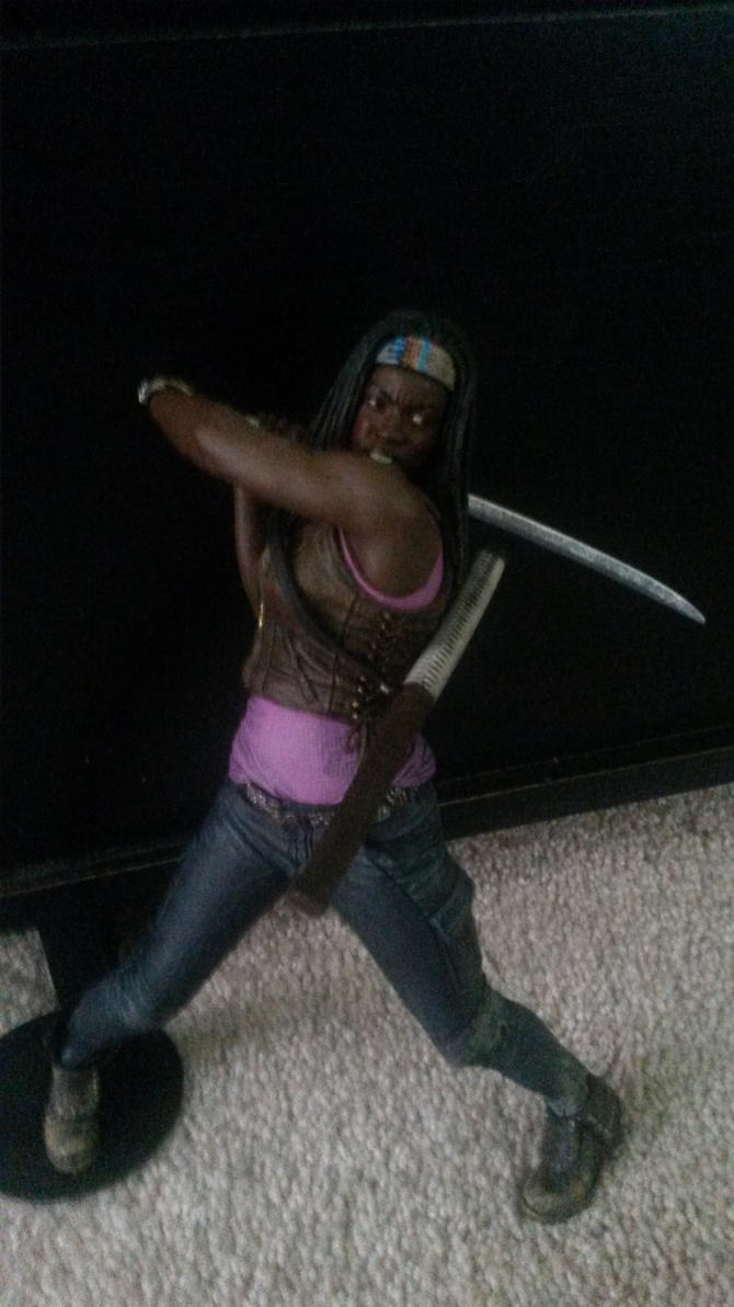 Michonne figure by Chaser1992