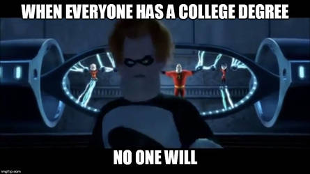 When Everyone Has A College Degree