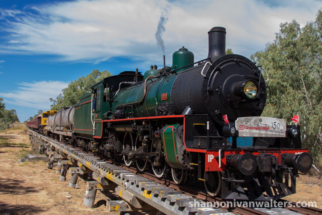 1079 Crossing the Alice River by ShannonIWalters