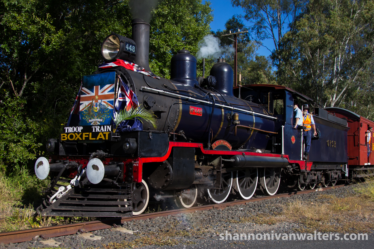 2015 - QPSR Troop Train Running Day - 02 by ShannonIWalters