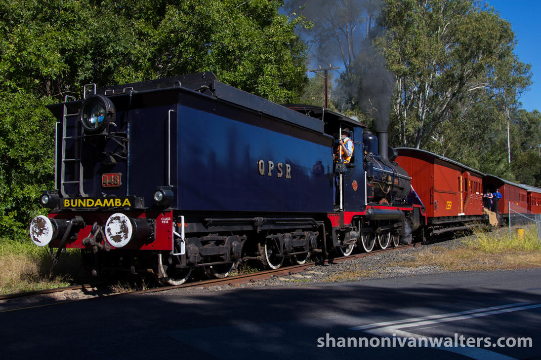 2015 - QPSR Troop Train Running Day - 03 by ShannonIWalters