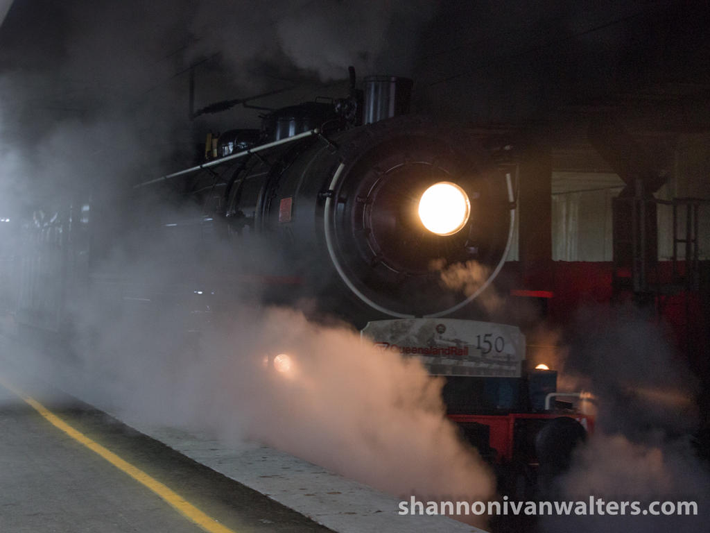 AC16 221A Departing Ipswich Station by ShannonIWalters