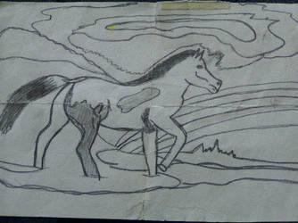 Horse by FearlessChild06