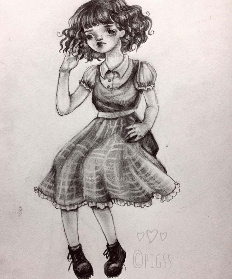 Doll Sketch by piigss