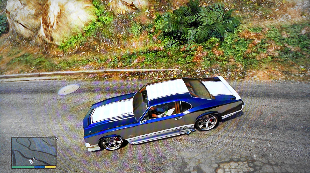 Gta V Franklin Muscle Car By On Deviantart