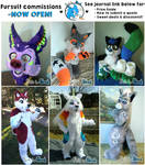 Fursuit Commmissions ~~CLOSED!~~