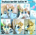Inukaza Border Collie Light Partial Fursuit