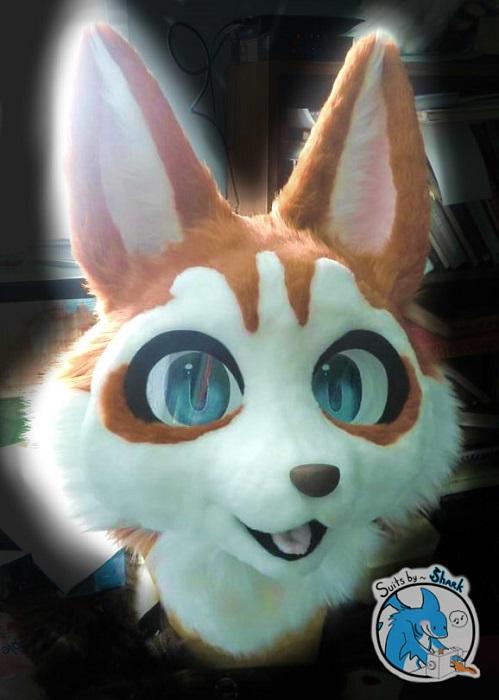 Red Kemono Husky Fursuit Mask Teaser 3.0 by TwerkOnThatShark