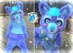 Sweet Pastel Koala Halfsuit