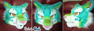 Grumpy Sunburst Tiger Fursuit ~ Up for Auction!