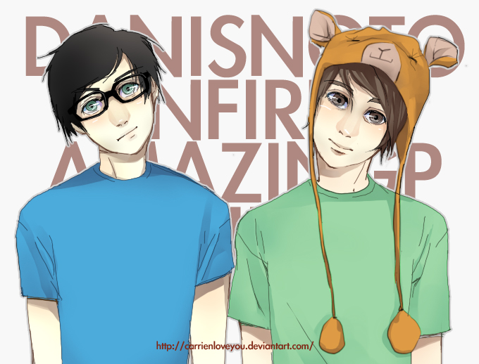 my first dan and phil by carrienloveyou on DeviantArt