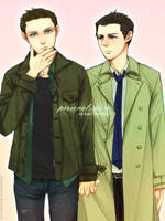 my first ever destiel by carrienloveyou