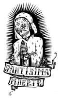Santisima Muerte by BeetlejuiceHeart