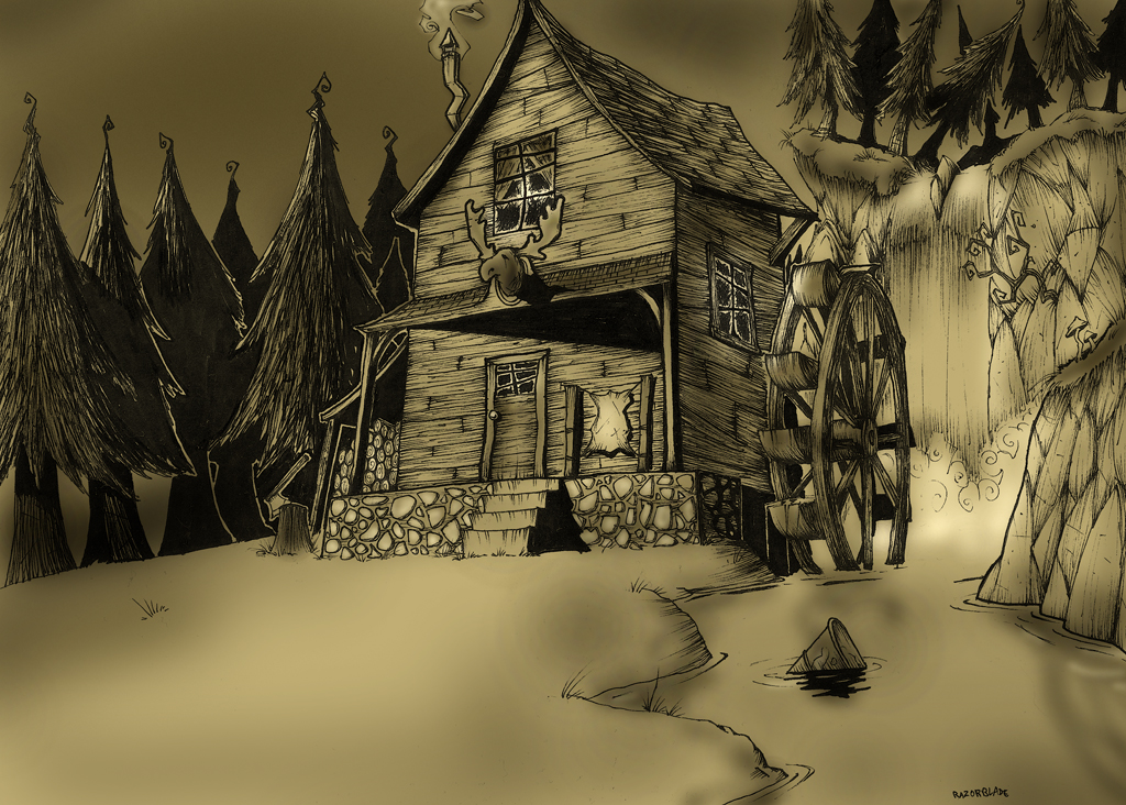 The moose hunter 39 s house by beetlejuiceheart on deviantart - The home hunter ...