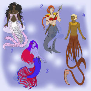 Mermaids Adopts - set prices (OPEN)