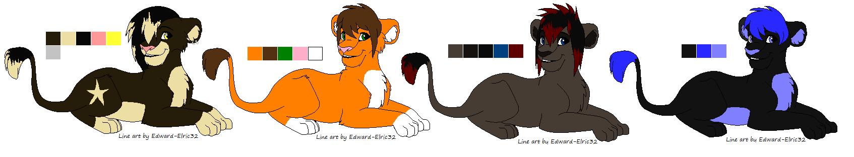 Lion Adopts OPEN by EliteUnicorns
