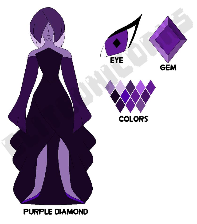 Purple Diamond by EliteUnicorns