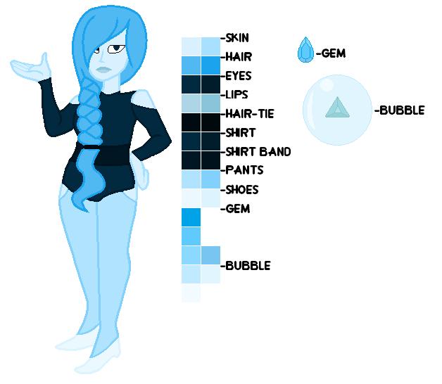 Aquamarine Ref Sheet by EliteUnicorns