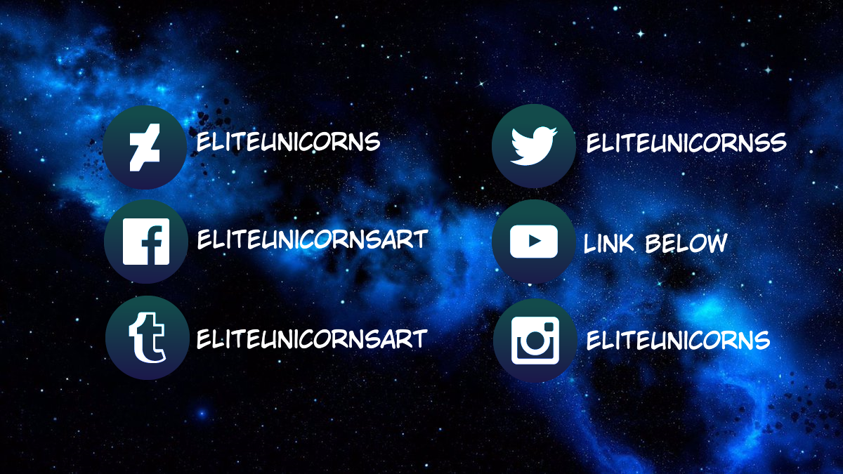 Social Media Links (DeviantID) by EliteUnicorns