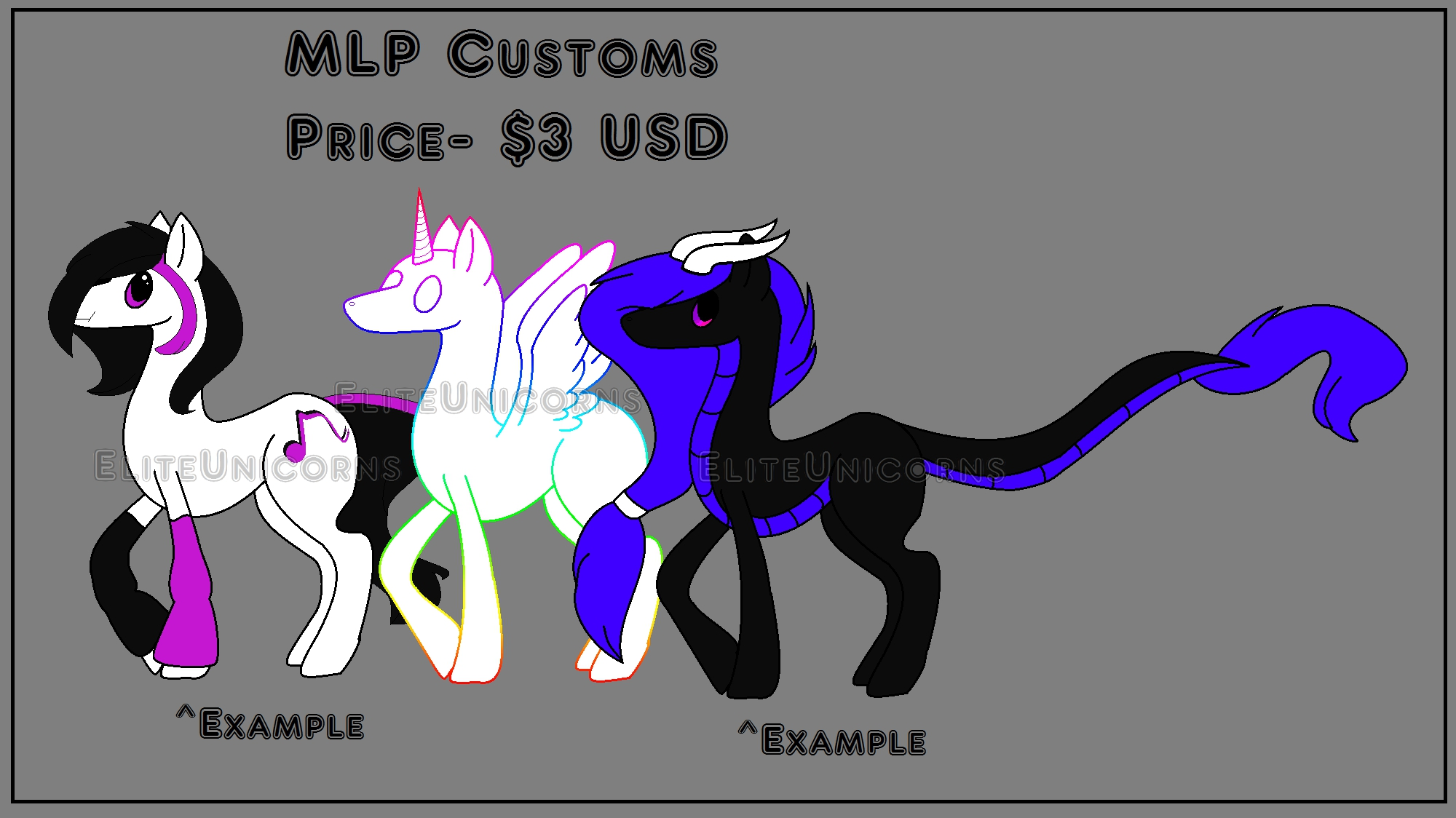 MLP Design Customs (OPEN) by EliteUnicorns