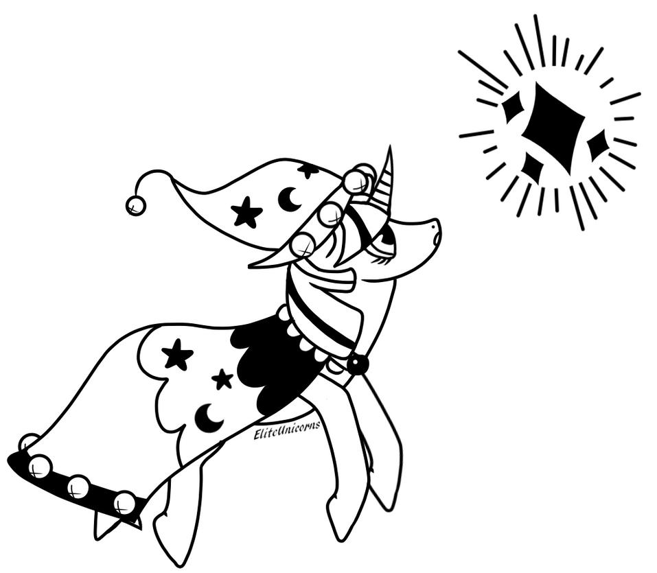 BSD Drawtober Day 4 SpoOOoOOOOOooOOOOky Wizard by EliteUnicorns
