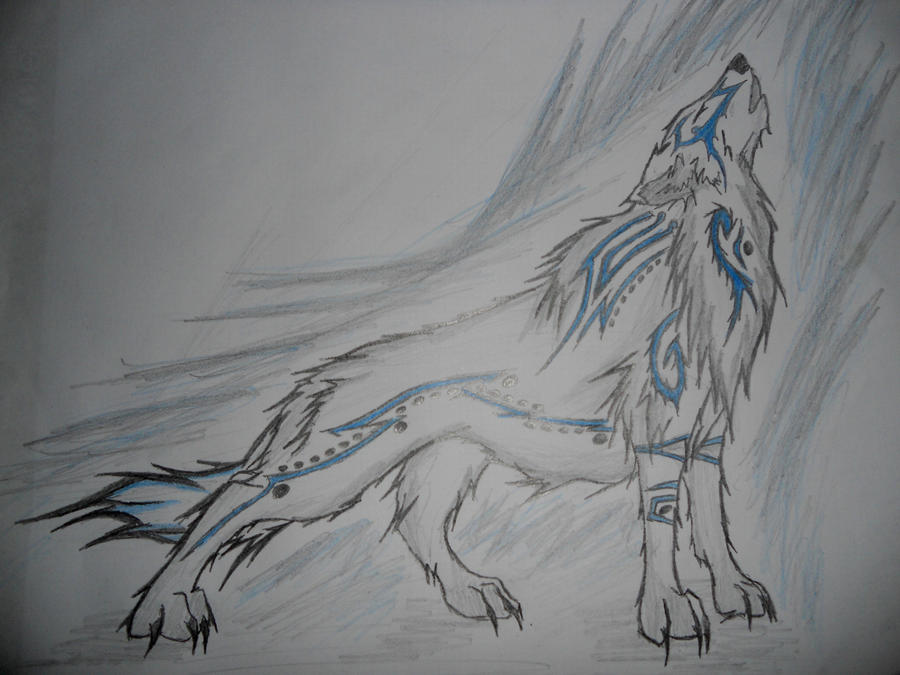 Elemental air wolf - photo#17