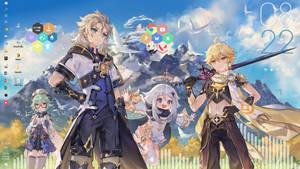Chalk Prince and the Dragon Theme
