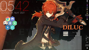 Diluc Collected Miscellany Theme Preview