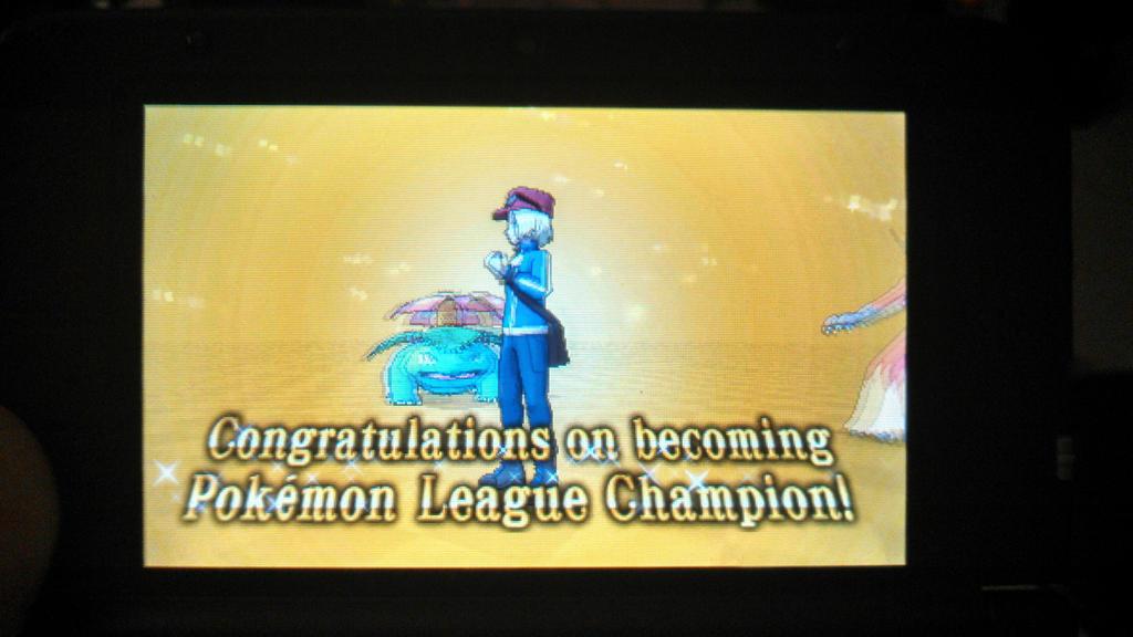 Pokemon League Champion! by Italian-223 on DeviantArt