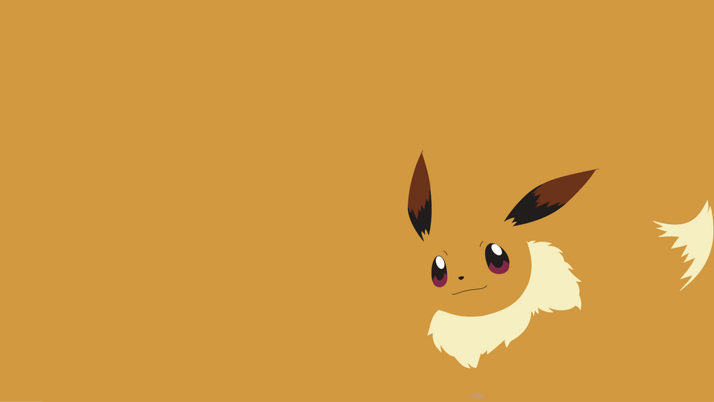 eevee wallpaper by pennymester on deviantart