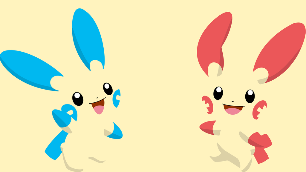 Plusle And Minun Wallpaper Minun and Plusle Wallp...