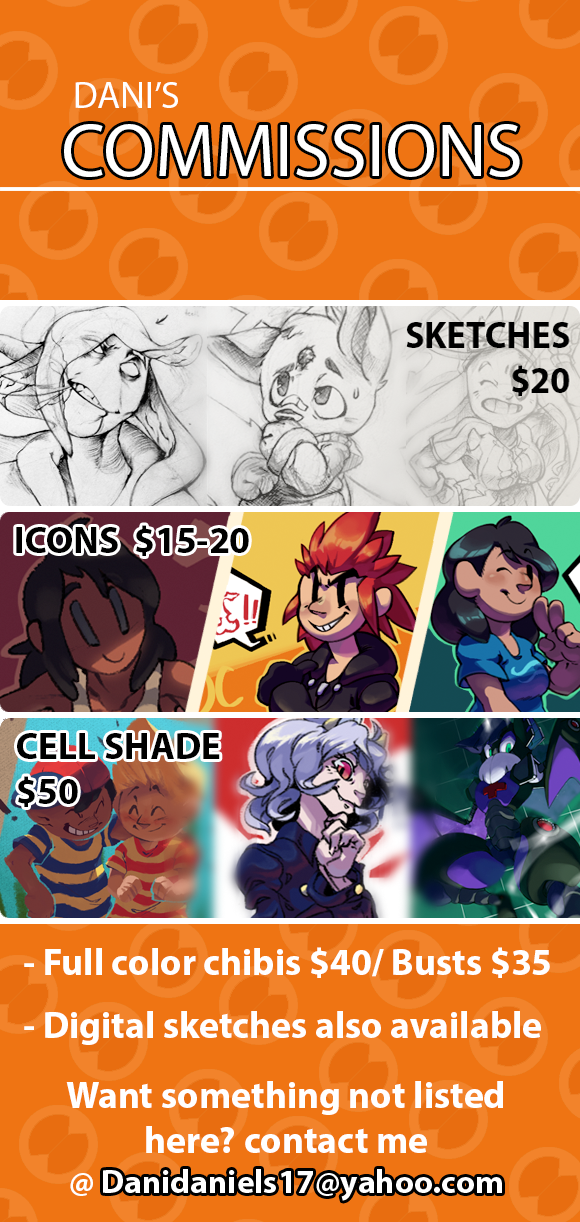 Updated Commission sheet by DroseAttack