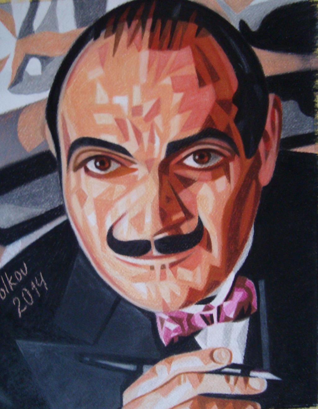 Hercule Poirot by bazaroff
