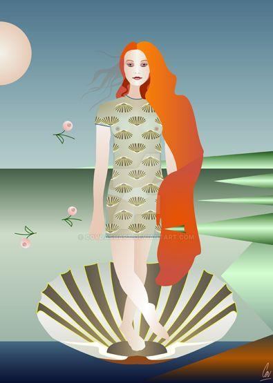 Codie Young: Modern Venus by covdashart