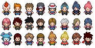 Side Contest Trainer Sprites by Koreviss