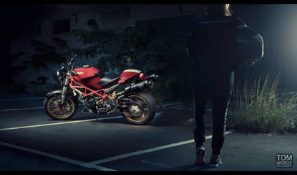 Ducati Monster 695 - ready to ride
