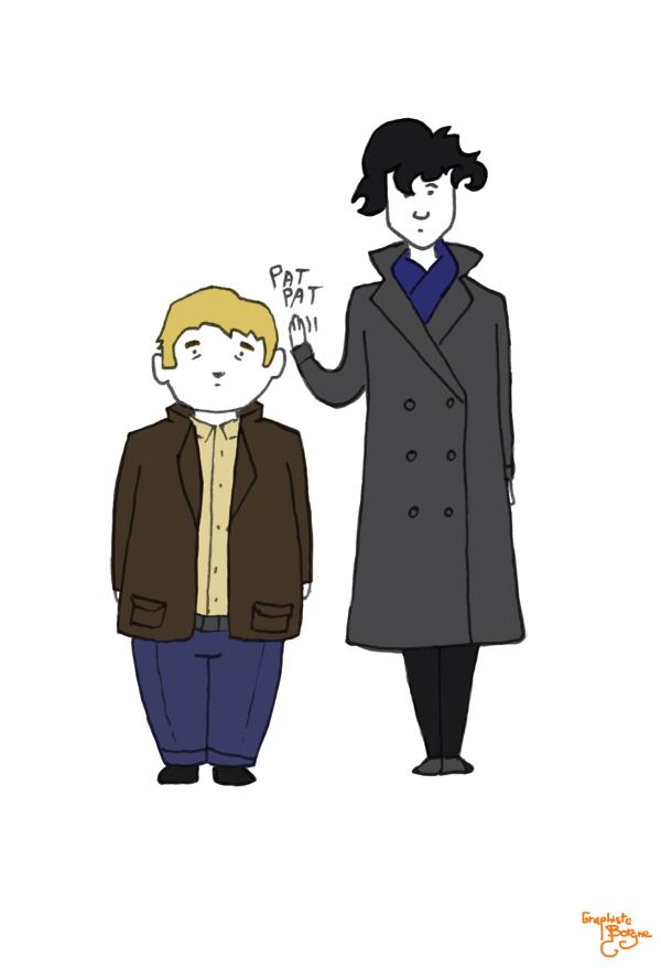 John and Sherlock