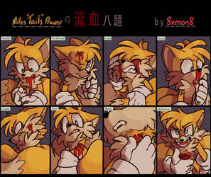 Bleeding meme: Tails by 8Xenon8