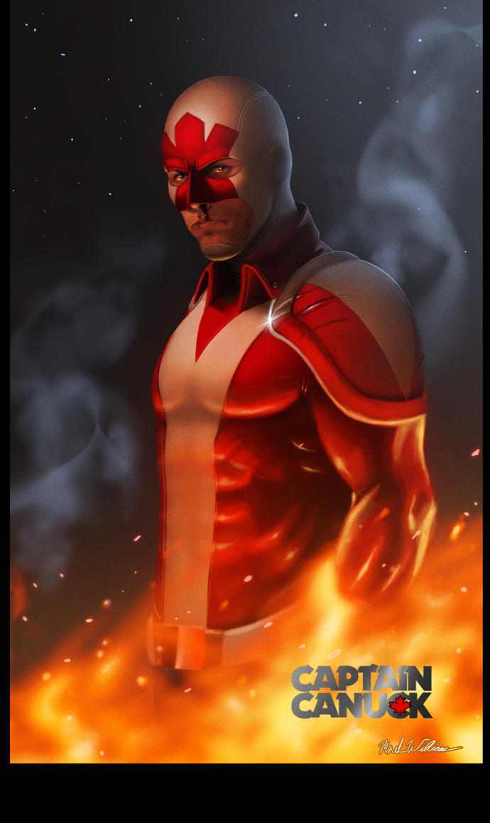 Captain Canuck CE by SchneeKatze09