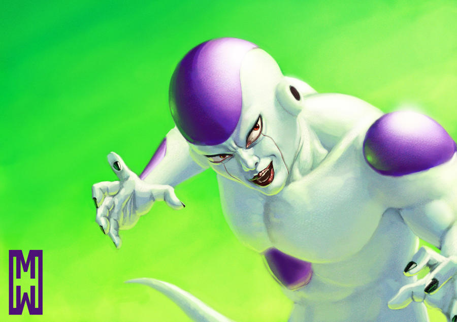 Frieza fan art by SchneeKatze09
