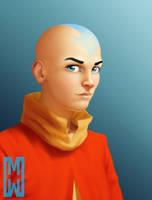 Avatar Aang by SchneeKatze09