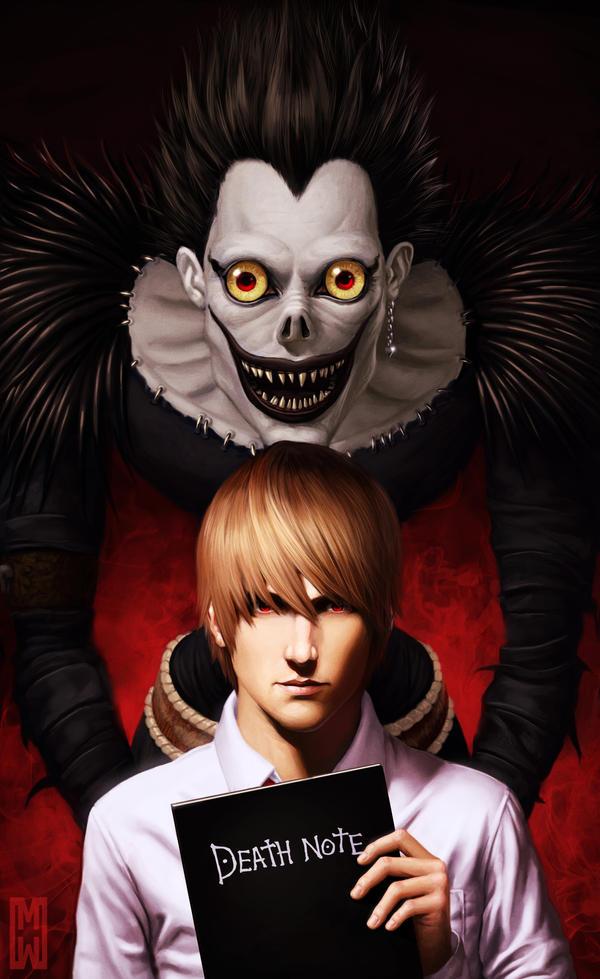 Death Note by SchneeKatze09