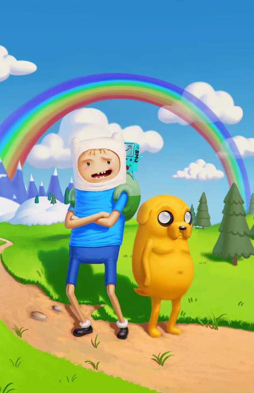 Adventure Time fan art by SchneeKatze09