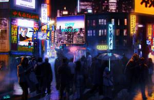 Brainstorm challenge Blade Runner by SchneeKatze09