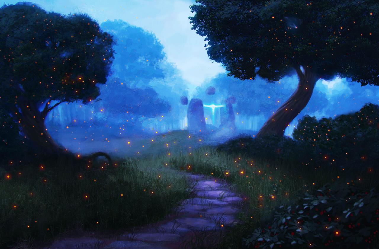 Mystical Forest By Schneekatze09 On Deviantart